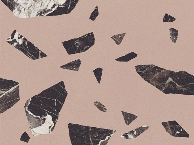 Keramická dlažba Medley Pink Rock