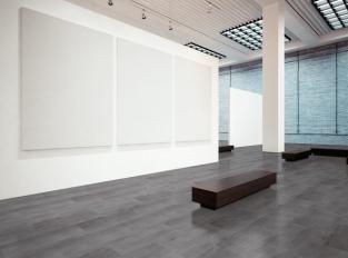 Vinylová podlaha - design ocel