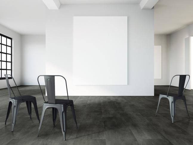 Vinylová podlaha Expona - design železný plát Kvalitní vinylová podlaha Expona Commercial, dekor kov, dodavatel BOCA Praha.