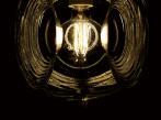 Závěsná lampa Eyes F34