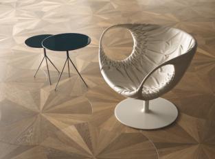 Dřevěná podlaha Foglie d´Oro VENTAGLIO Ca' Corner