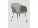 Fiber Chair Fiber Tube Grey