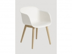 Fiber Chair Fiber Wood oak - natural white