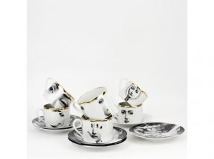 Set 6 Tazze tè T&V