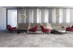 Koberce Freestile - Aarhus Kobercové čtverce s inovativním designem Aarhus od Object Carpet, barva 0603.