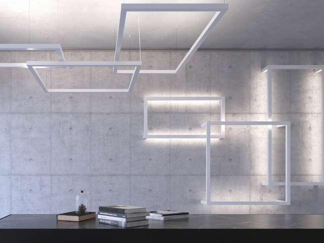 Kolekce svítidel framework led