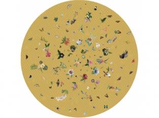 Koberec Garden of Eden round netting yellow