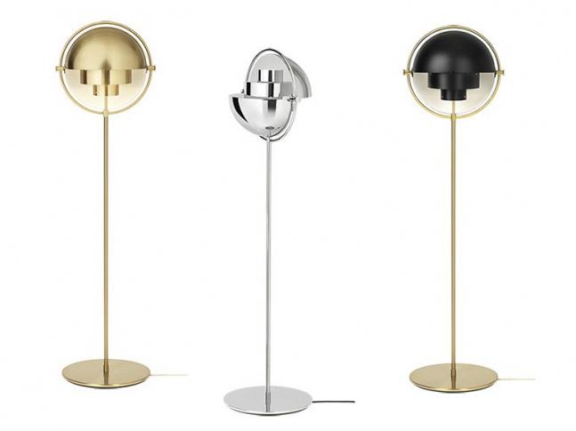 Stojací lampa Gubi Multi-Lite