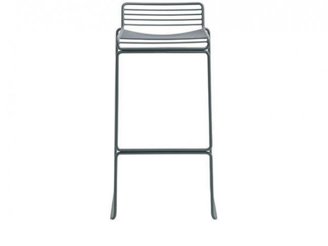 Hee Collection HEE BAR STOOL GREY
