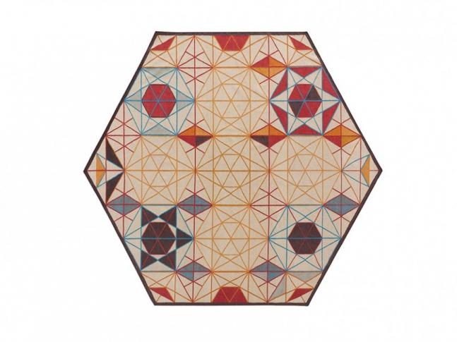 Koberec Kilim Hexa