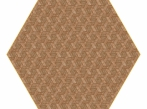 Hexagon Carpet Hexagon Carpet - hnědý