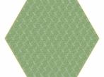Hexagon Carpet Hexagon Carpet - zelený