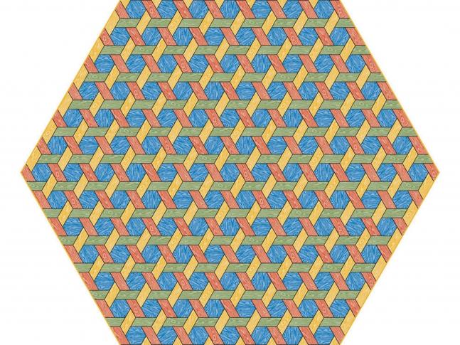 Hexagon Carpet Hexagon Carpet - multi