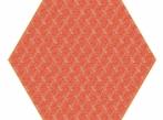 Hexagon Carpet Hexagon Carpet - červený