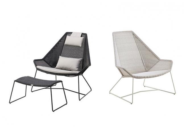 Křeslo Cane-Line Breeze Highback Chair