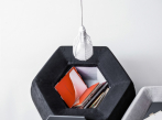 Stolek/pouf/box HONEY
