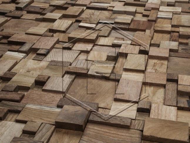 Havwoods - Solid Teak Cladding Panel