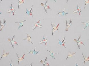 Látka Hummingbird Grey