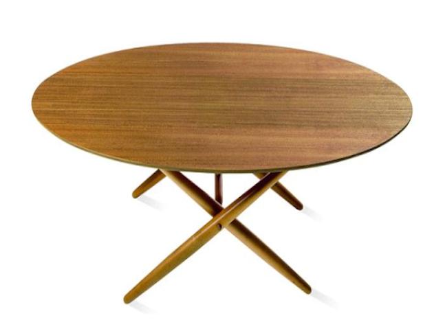Ovalette stůl Ilmari Tapiovaara, Ovalette