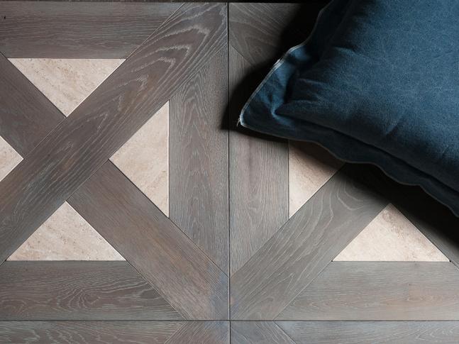 Dřevěná podlaha Vintage Pattern 1