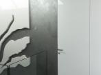 Dveře se skrytou zárubní - chodba