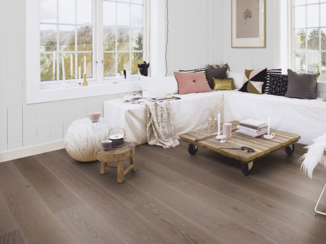 Podlaha Oak India Grey