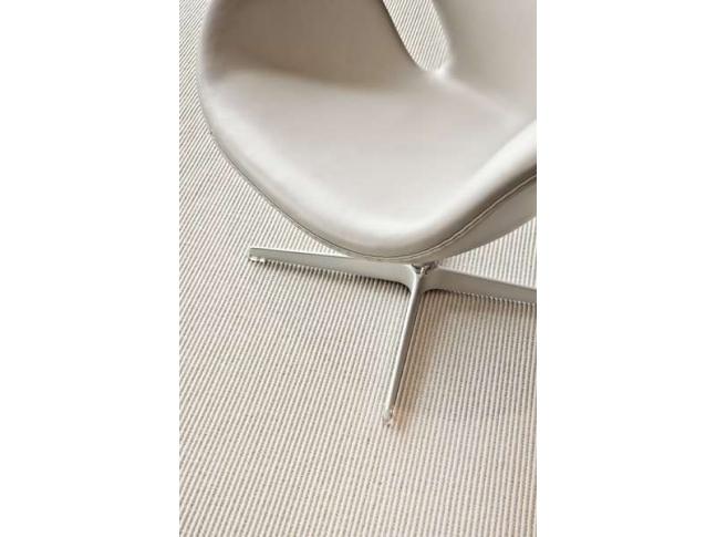 Lanagave Super - sisalovo-vlněný koberec Sisalovo-vlněný koberec Lanagave Super v bílé barvě.