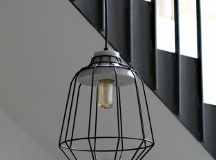 LOOOOX lustr drát/beton