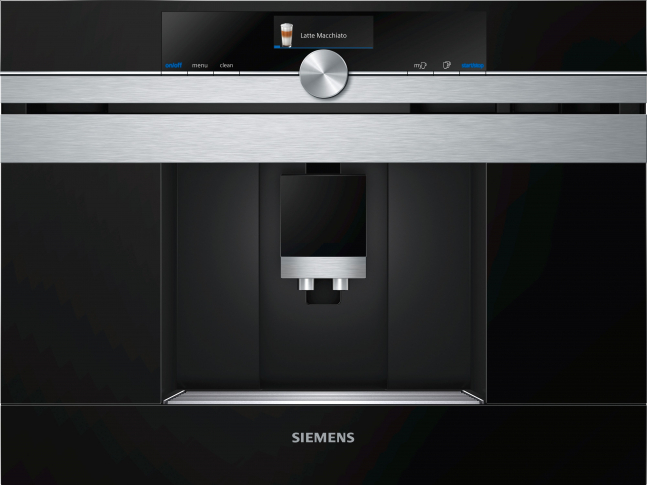 iQ700 Vestavný plně automatický kávovar ocel