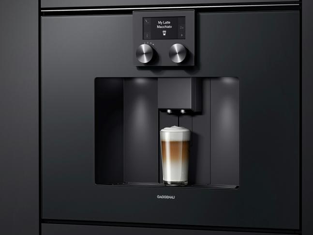 Vestavné kávovary Gaggenau řady 200