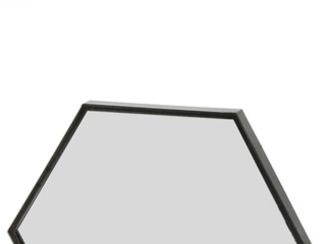 LOOOOX zrcadlo šestihranné L miroir-hexagonal-zen-pomax