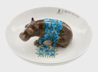 Bowl with Hippopotamus