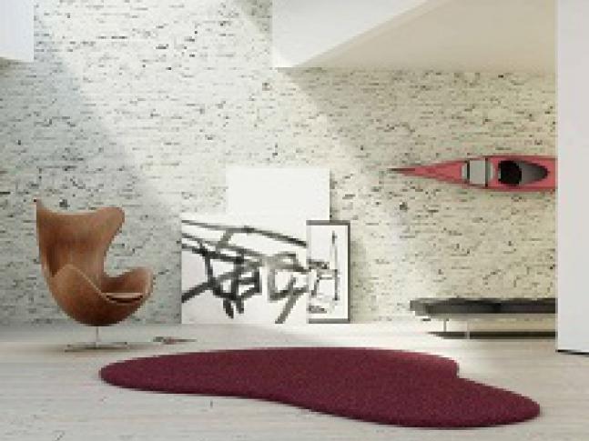 Kusové koberce Fletco rugs s různými tvary Kusový koberec Fletco rug v netradičním tvaru.