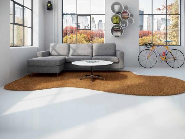 Fletco rugs - kusové koberce na přání Kusové koberec Fletco rugs mohou mít nejrůznější tvary a barvy.