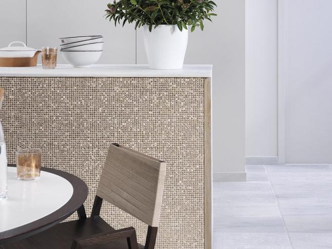 Mosaico Gravity Aluminium Cubic Gold