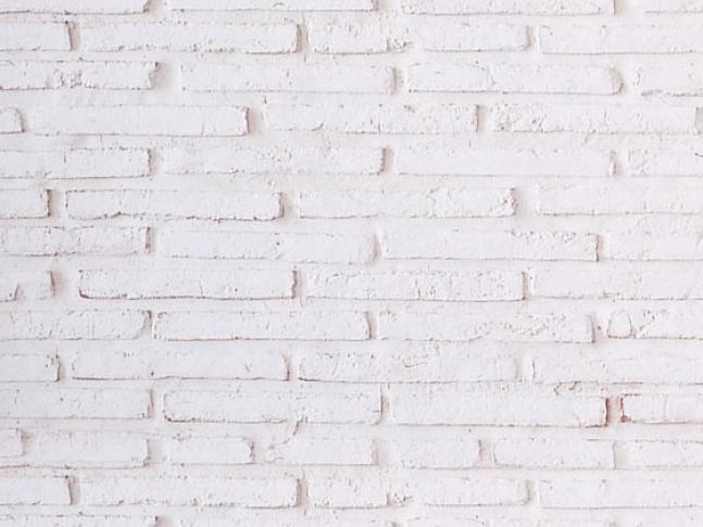 MSD Ladrillo vertical blanco