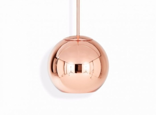 Copper Round Pendant