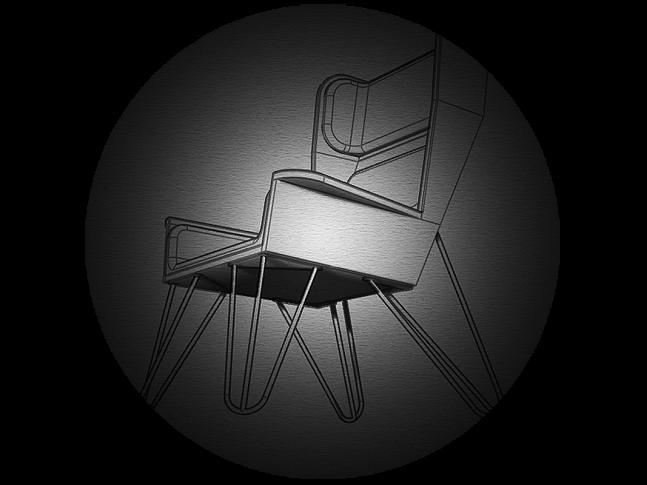 NARKi furniture křeslo UŠÁK
