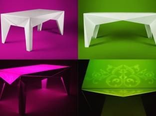 Crystalline table