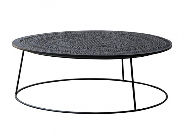 Konferenční stůl Ethnicraft Tabwa Round Coffee Table
