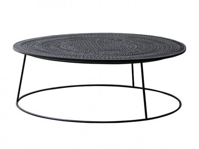 Konferenční stůl Ethnicraft Tabwa Round Coffee Table