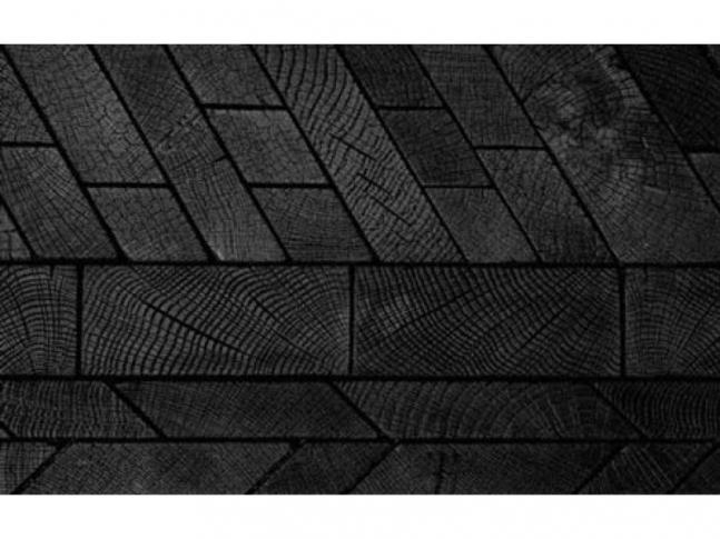 Dřevěná podlaha Burnt z kolekce Foret