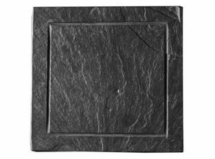 Lupeck břidlicový talíř minimal 30x30cm