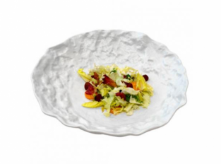 Pordamsa Crater white salad bowl mat ø26cm