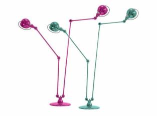 Stojací lampa Loft Twin DD7406