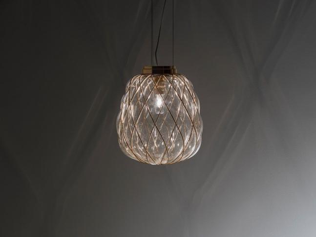 Závěsná lampa PINECONE