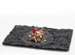 Pordamsa Crater glass tray 29x18cm