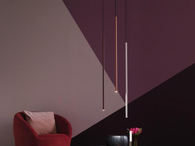 Závěsná lampa POP Petit + FILO System
