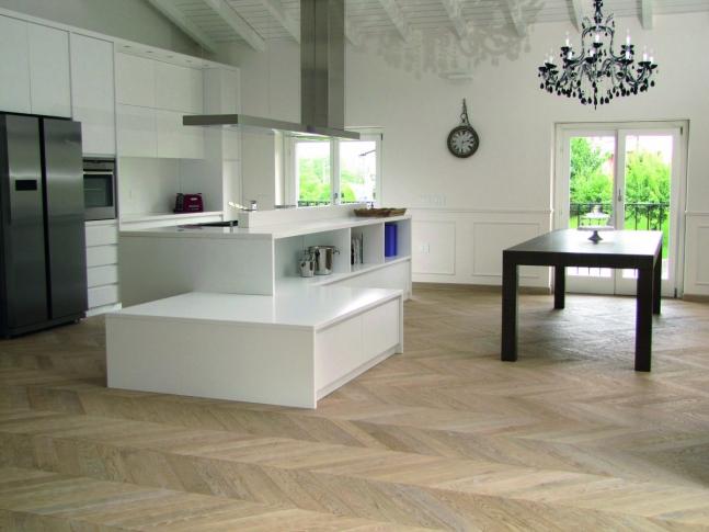 Milano Style - dřevěné podlahy Dřevěná podlaha Sabbia z kolekce Milano Style.