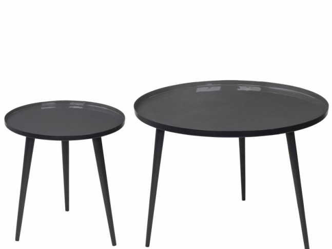 OOOOX nízký kulatý stolek S round-coffee-table-jelva